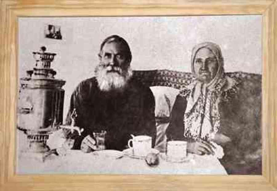 Кошман с женой