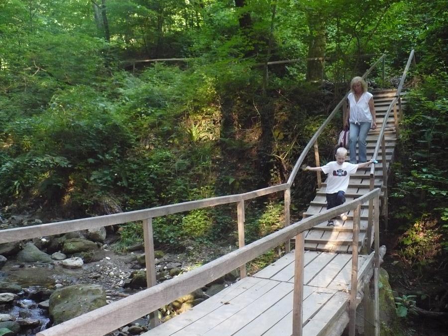 мостик через реку Годлик