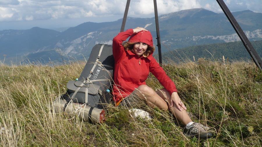 вершина горы Спящий черкес