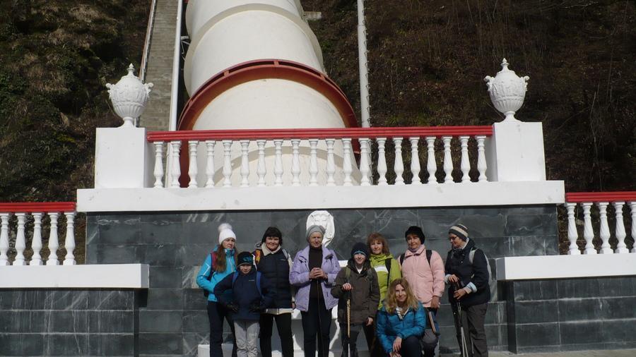 ГЭС Красная поляна