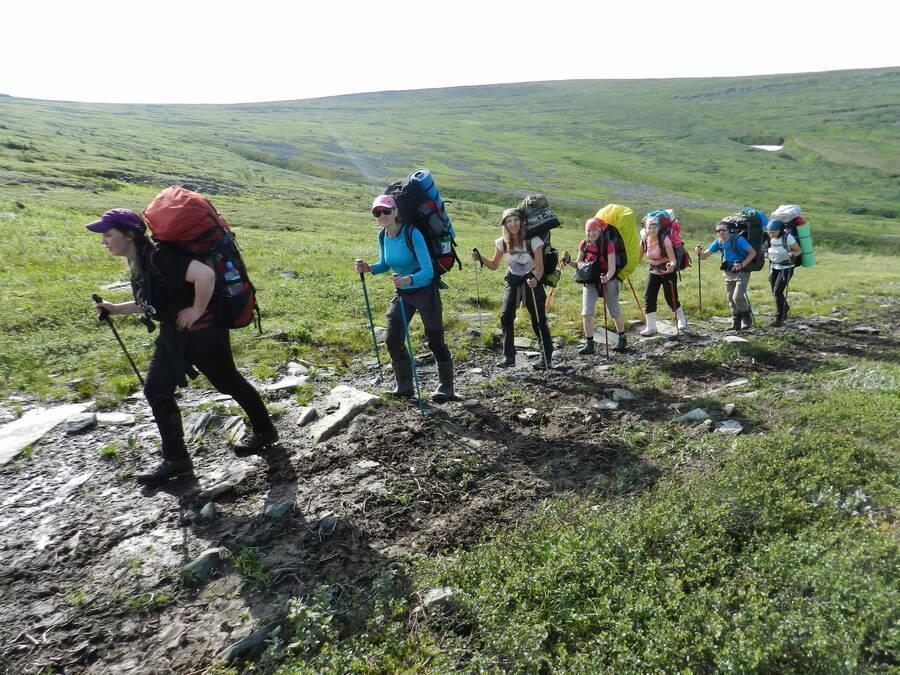 поход через Перевал Дятлова на плато Маньпупунёр
