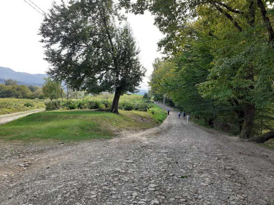 дорога на снт Черноморье