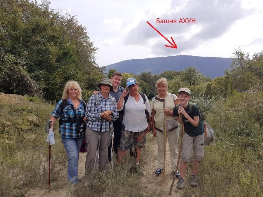 маршрут на гору Ахун