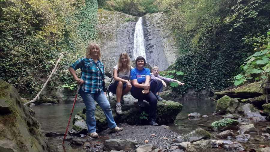 Мацестинский водопад