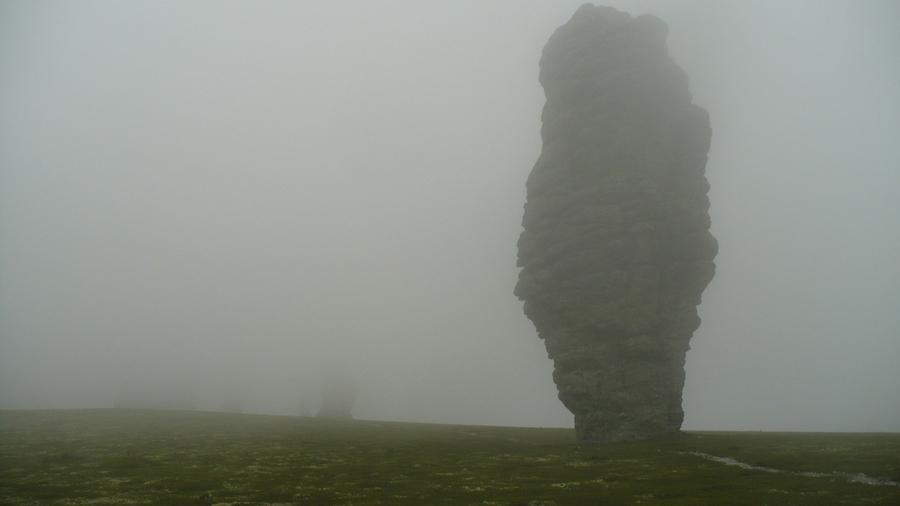 плато Мань-Пупу-Нёр в тумане