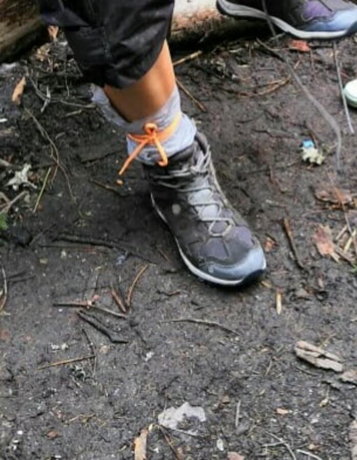 как сохранить ноги в сухости