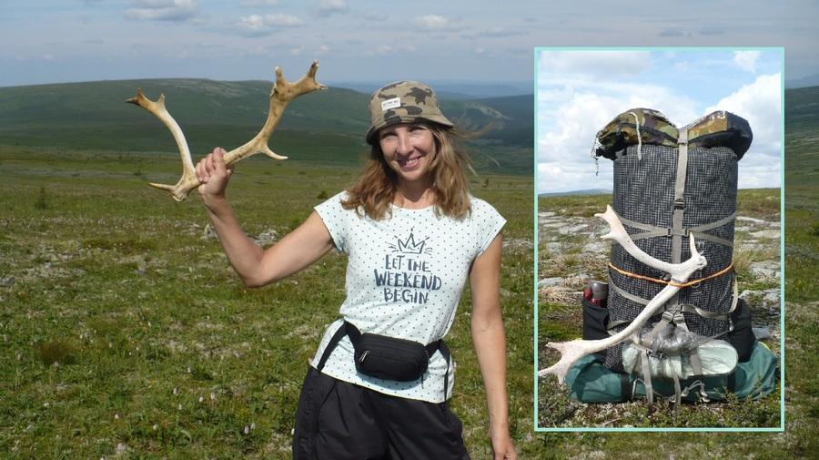 Уральский сувенир - олений рог