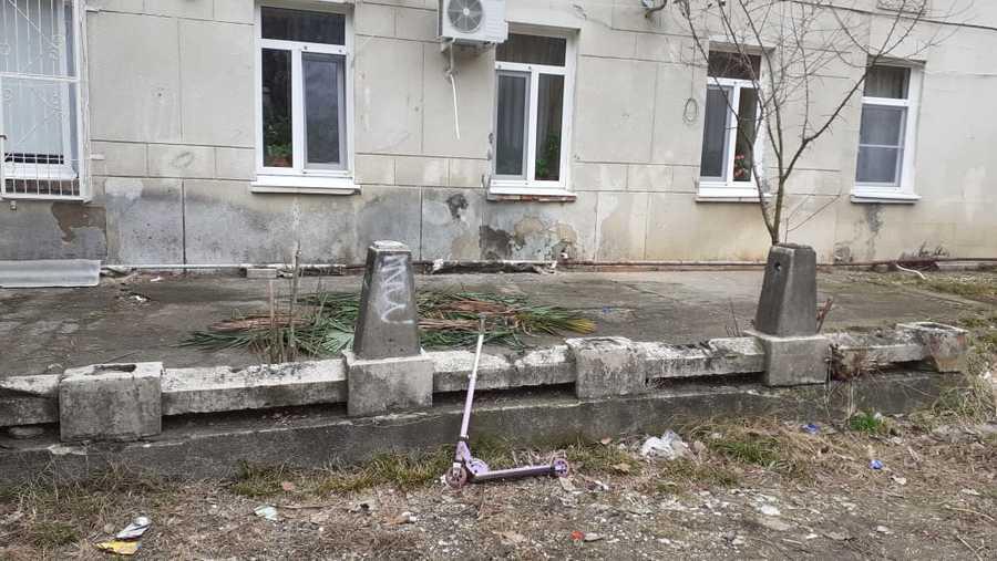элемент старой террасы 1902 года гостиница М.М. Зинзинова