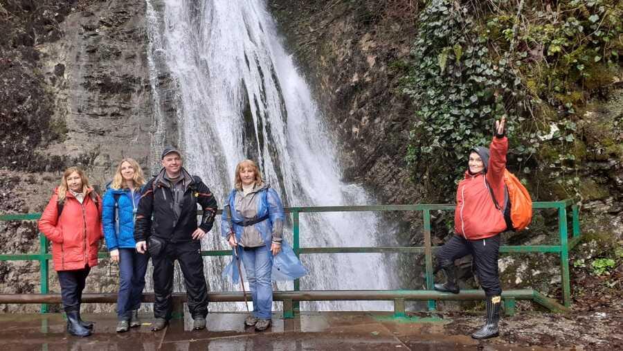 водопад в Солохауле фото
