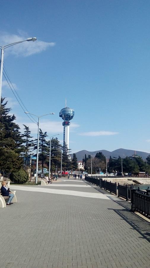 диспетчерская башня морпорта Туапсе фото