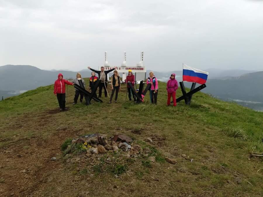 вершина горы Семашхо