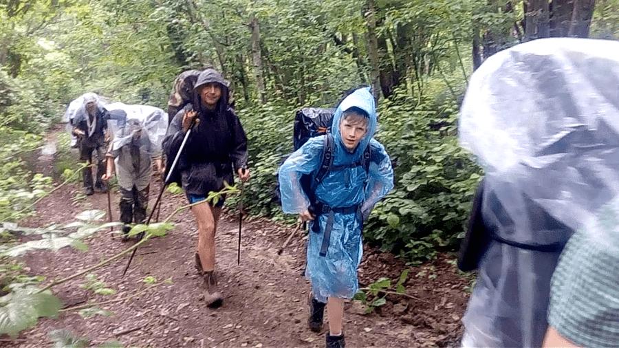 Защита от дождя в походе