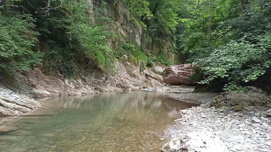 река Западный Дагомыс