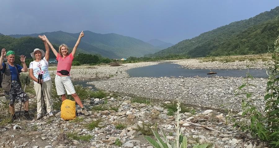 берег реки Шахе