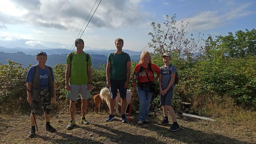 идём на гору Семёновский шпиль