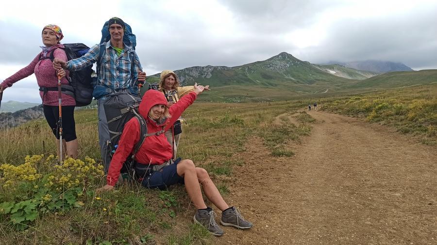 30 маршрут - через горы к морю фото