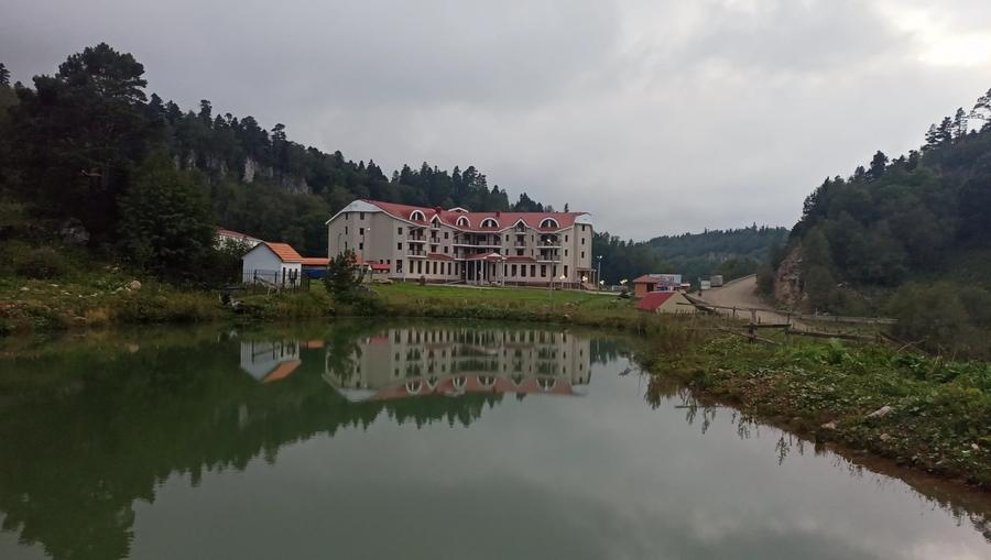 гостиница в Лагонаки