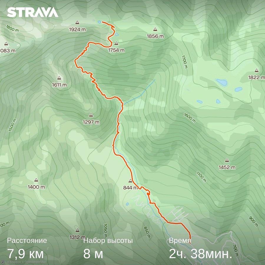 спуск от озера Зеркального к Краснополянским дольменам карта, тропа