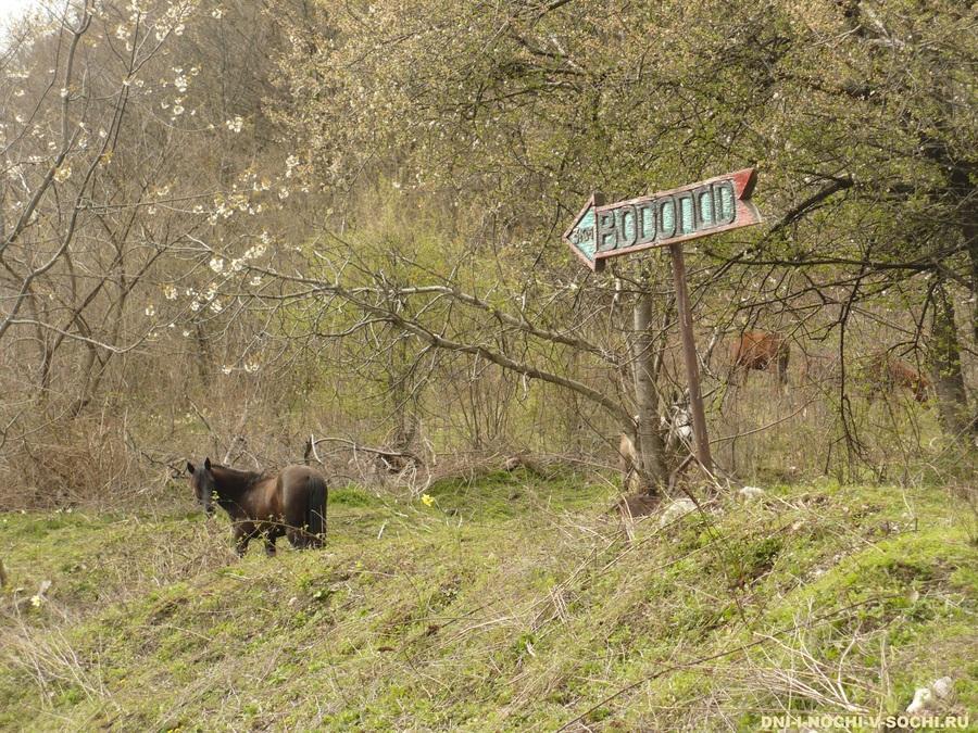 на Ивановский водопад
