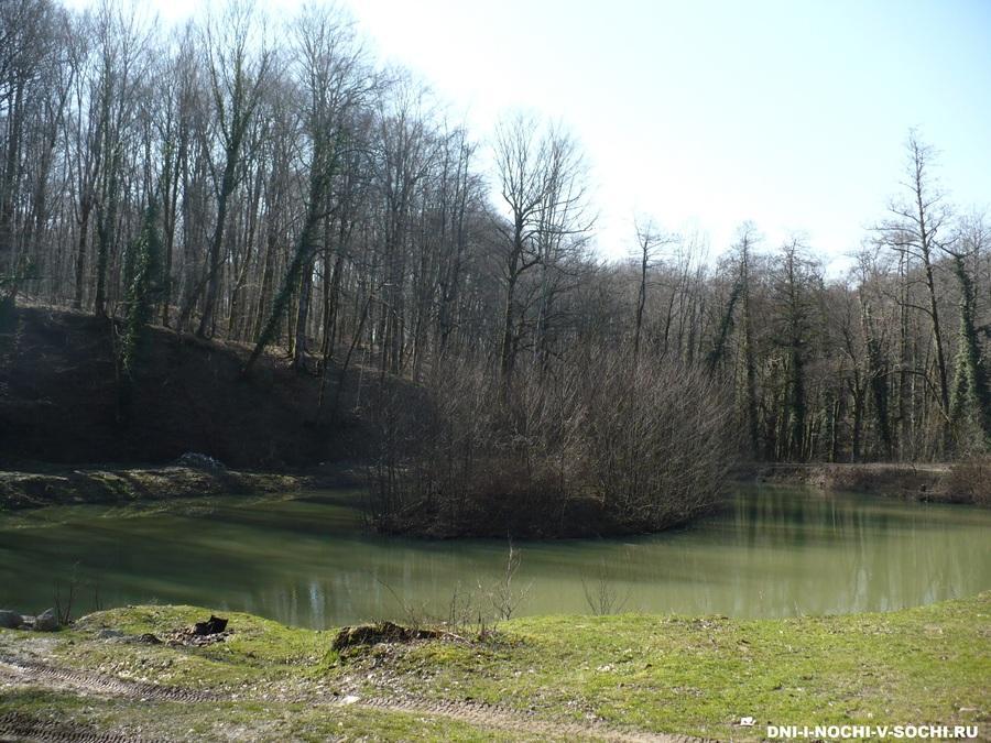 озеро в селе Прогресс