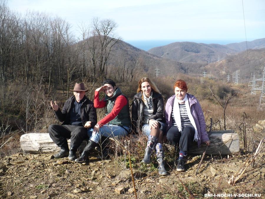 поход с Сочинским туристским клубом