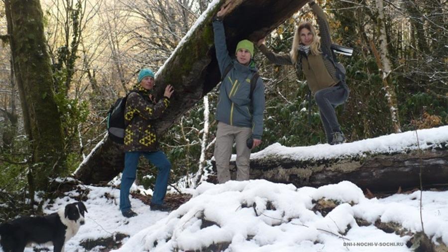 Зимний поход на Ажек