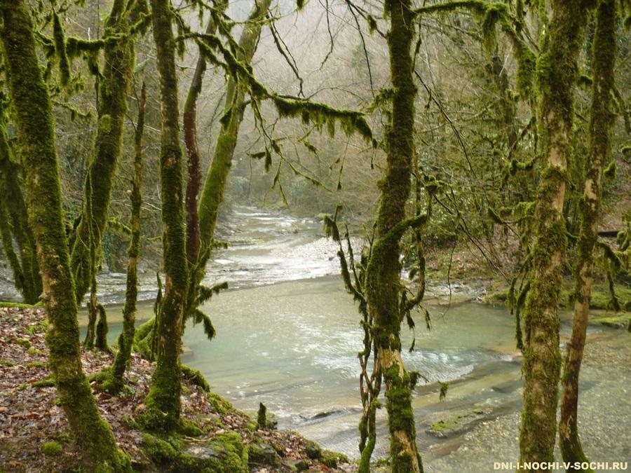 водопады в Дагомысе фото