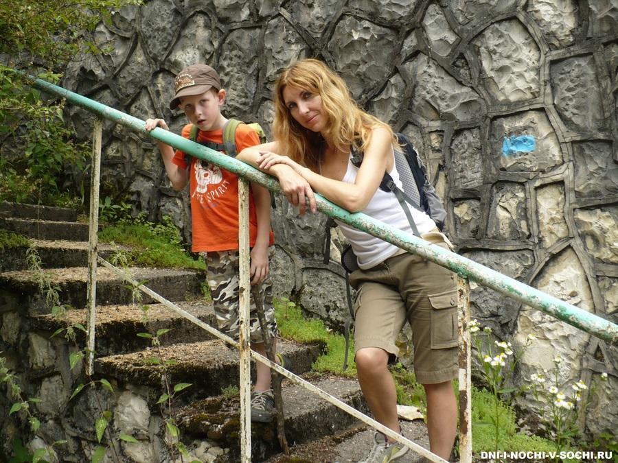 На водопад Кейва