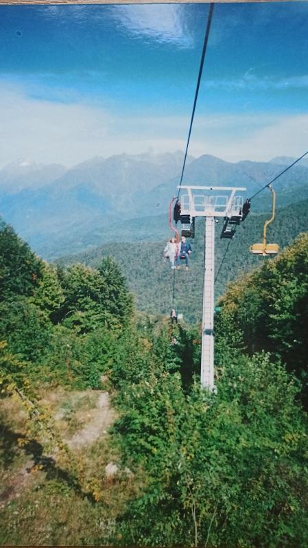 Старая канатная дорога Альпика - сервис фото