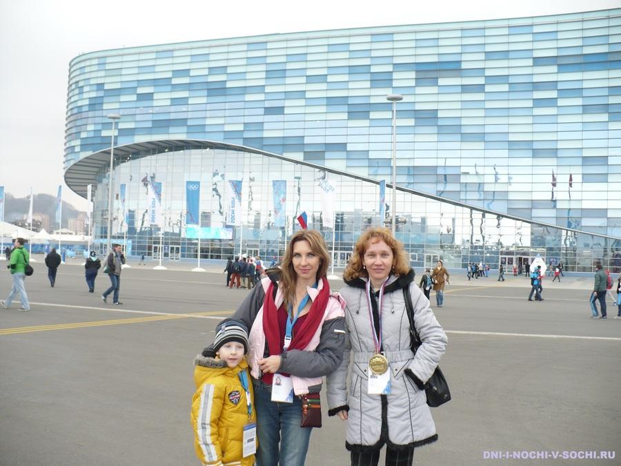 Айсберг Олимпийский парк