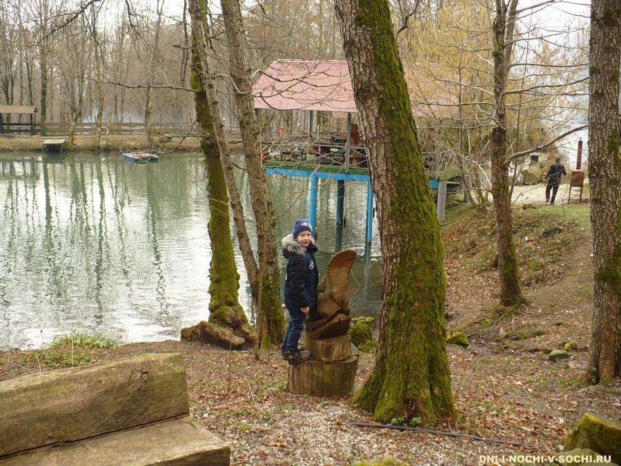 озеро Три ключа фото