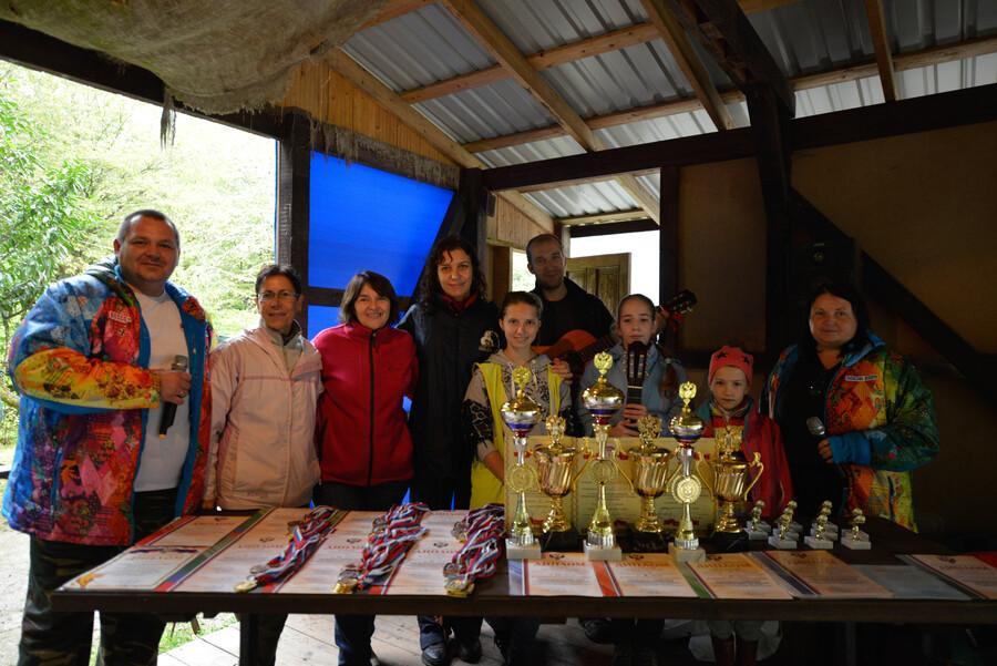 Всероссийские соревнования по спортивному туризму