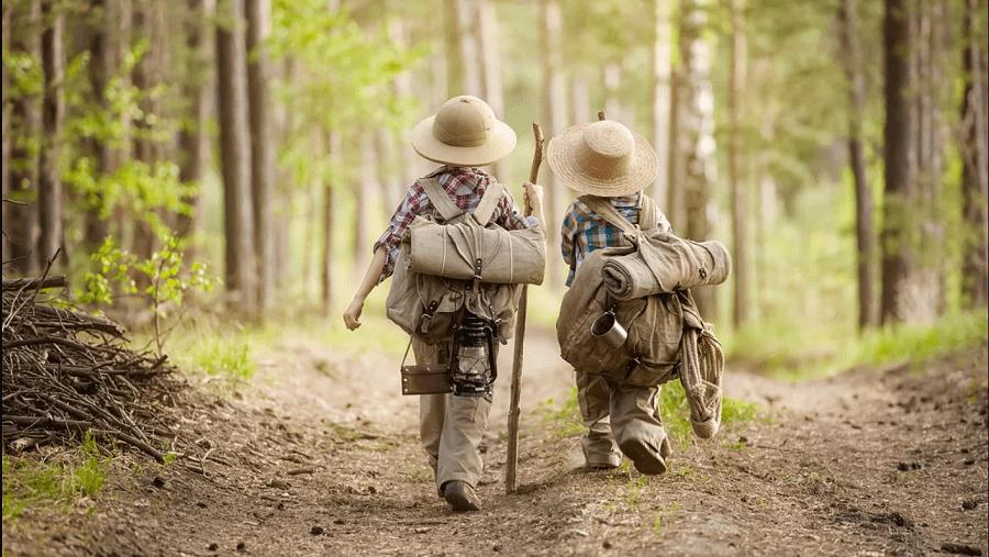 юные походники