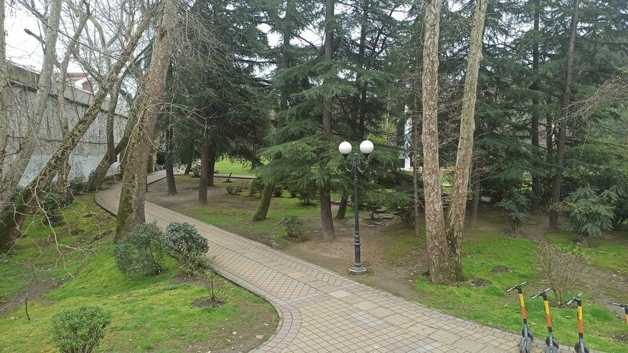 Комсомольский сквер в Сочи фотофото