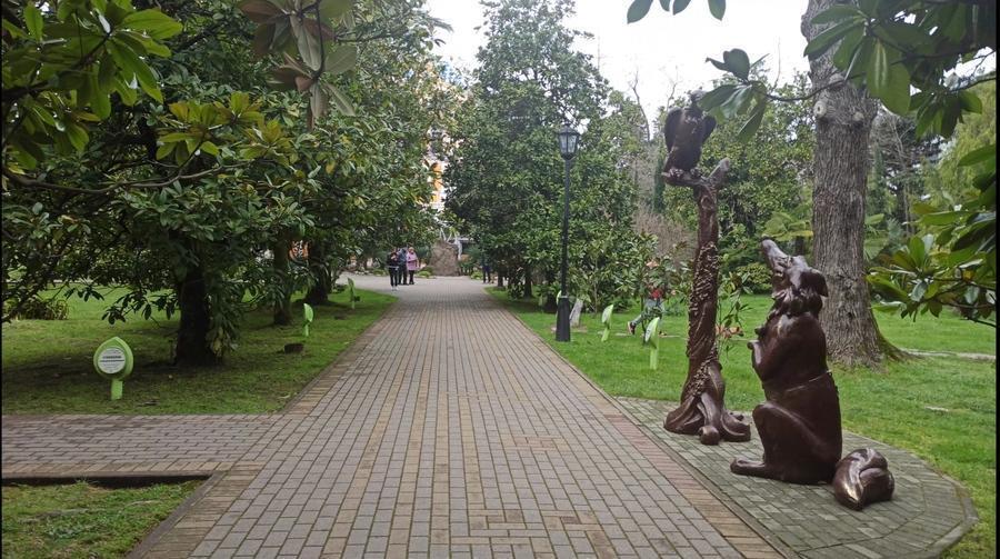 аллея космонавтов парк Ривьера фото