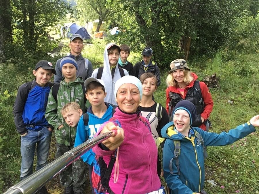 на пути к Софийским озёрам