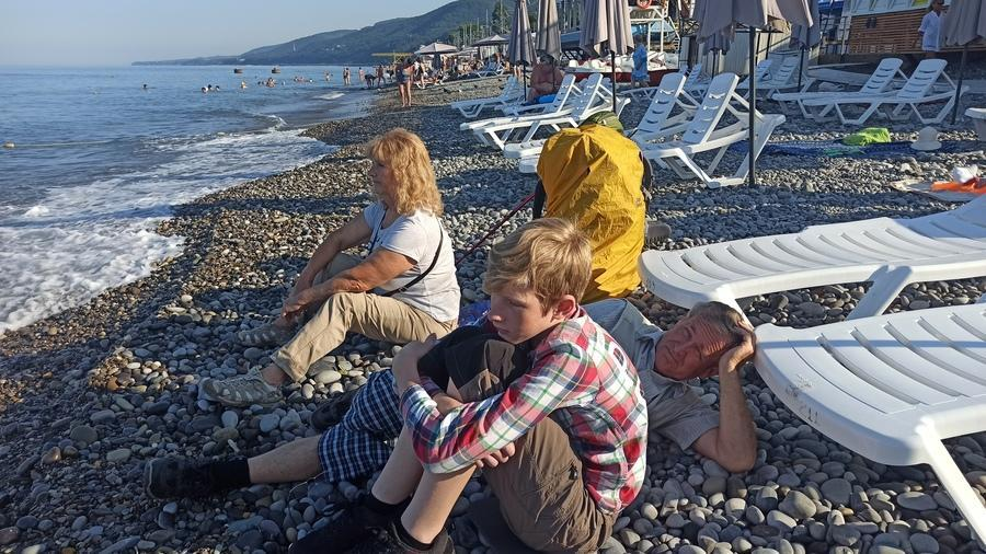 пляж Лазаревская