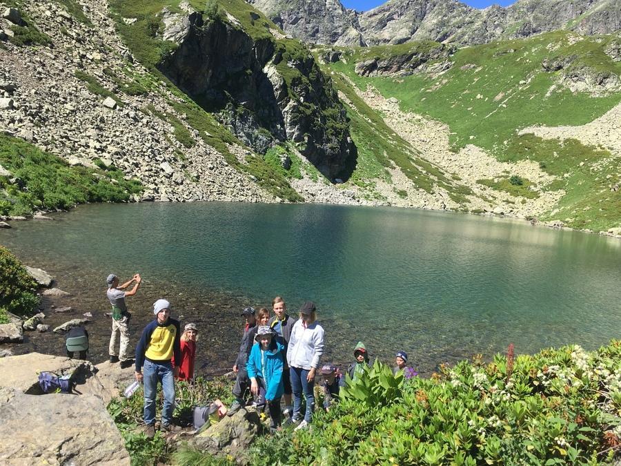 озеро Рыбка в Архызе