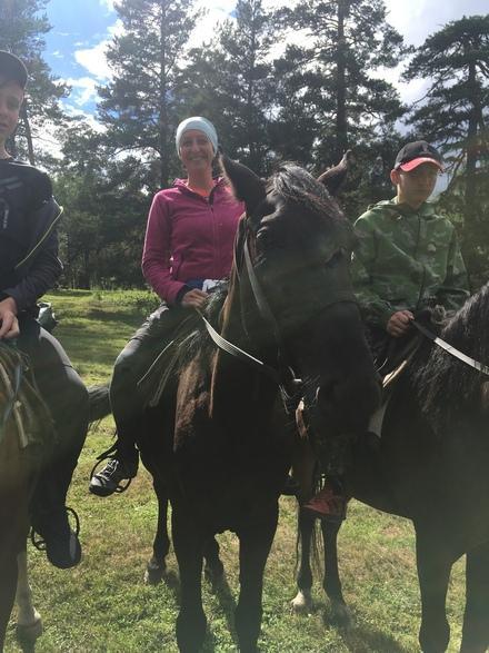 конные прогулки в Архызе