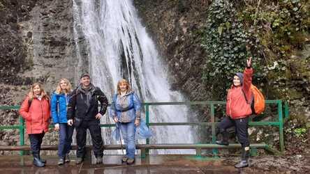 Водопады Солохаула